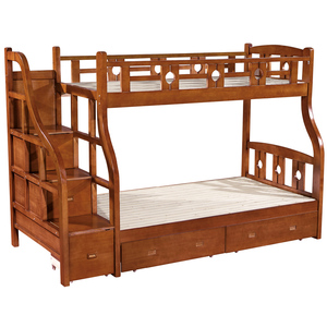 儿童上下床_成人上下铺床双层床母子床高低床儿童上下床现代中式