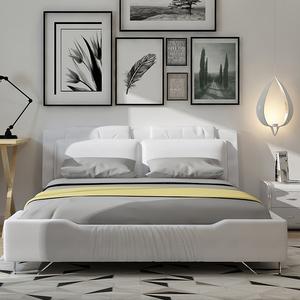 1.5米1.8米双人床气动软床简约现代家具