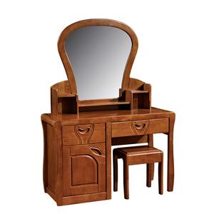 实木梳妆台_实木梳妆台 卧室橡木梳妆台化妆桌全实木